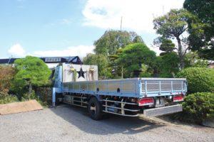 井出造園トラック