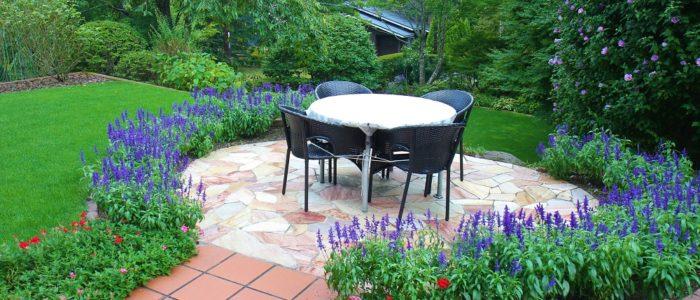 庭園テーブル